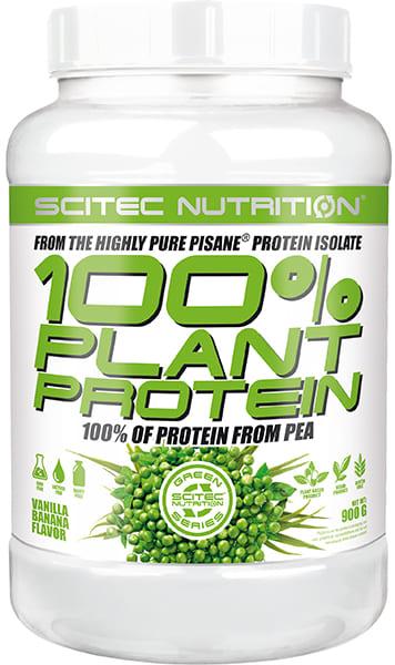 100% Protein Plant 900 grs. Vainilla-Plátano
