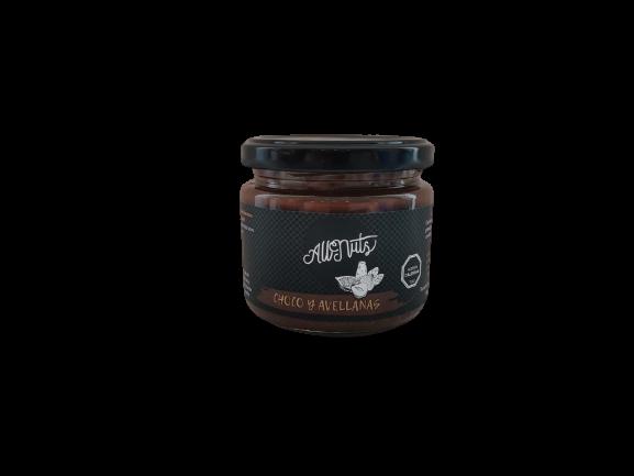Mantequilla de Avellanas con Chocolate 200 grs.