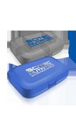 Pastillero Scitec (Azul y Opaco)