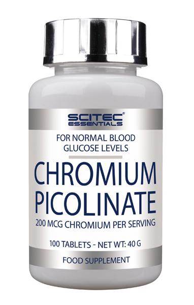 Picolinato de Cromo - 100 cápsulas