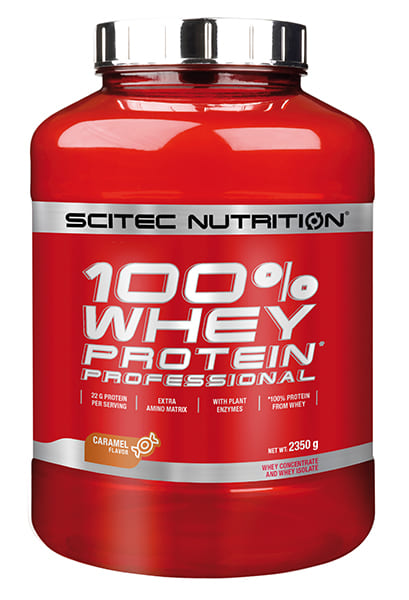 100% Whey Protein Professional 2.350 grs. Caramelo