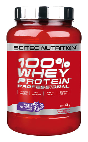 100% Whey Protein Professional 2 lb Vainilla Berries