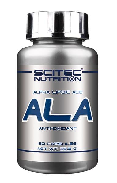 ALA (Ácido Alfa Lipoico) 250 mg. 50 cápsulas