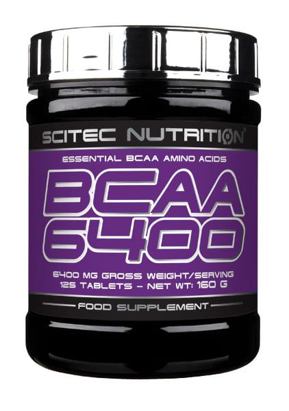 BCAA 6400 125 cápsulas