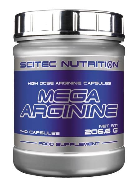 Mega Arginina (1.300 mg.) 140 cápsulas