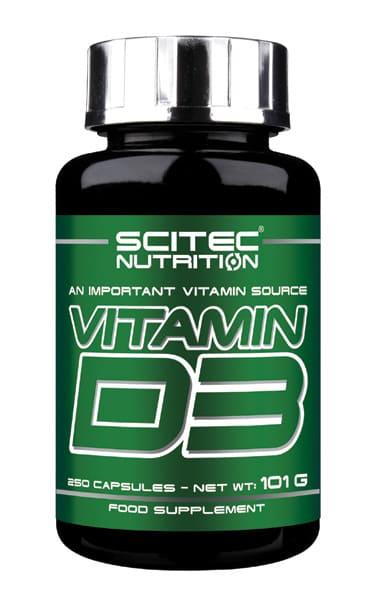 Vitamina D3 (12,5 ug.) 250 cápsulas